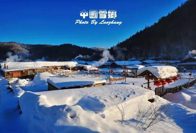 T6户外 哈尔滨 雪乡穿越林海 温泉 魔界 雾凇岛纯旅游(7日行程)