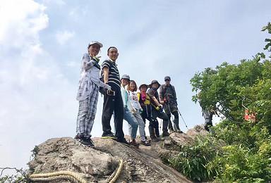 攀登野趣高骊山 感受绳索和悬崖峭壁的快感(1日行程)