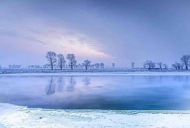 雾凇岛 冰雪世界雾凇岛 徒步穿越雪谷 雪乡经典路线(3日行程)