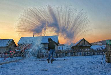 漠河 天天组队 九曲 白桦林 北红村 驯鹿园 北极村圣诞村(4日行程)