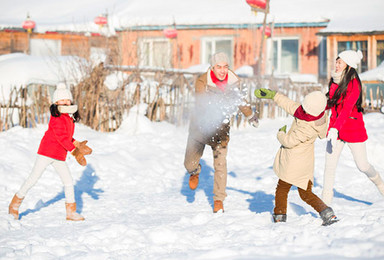 东北雪乡 亲子户外 寒假春节 天天组队 亚布力 镜泊湖(6日行程)