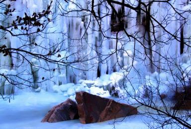 周末丨桃源仙谷看最美冰瀑  登山徒步 摄影(1日行程)