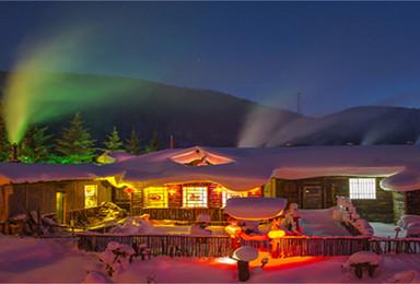 天津发团 赠送火车票带你穿越冰雪世界 雪乡 穿林海 踏雪原(3日行程)