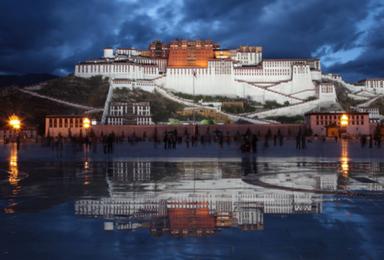 醉美西藏 拉萨 林芝 鲁朗 山南 拉姆拉措 羊湖 纳木措(9日行程)
