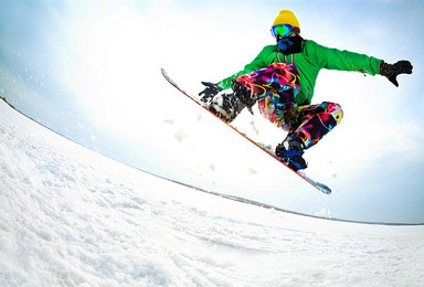 SSSSS吉滑滑雪场往返车 滑雪门票 雪板 雪鞋 雪仗(1日行程)