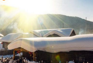 哈尔滨 亚布力雪谷滑雪长白山 双次温泉 魔界 朝鲜民俗村(8日行程)