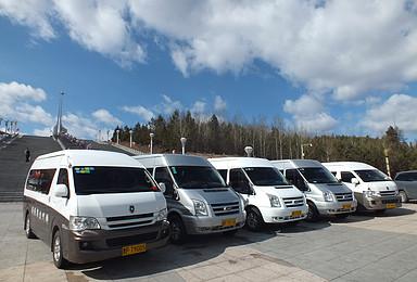 漠河旅游包车 商务车包车(3日行程)