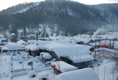 哈尔滨 亚布力雪谷滑雪 二浪河 雪乡穿越林海 镜泊湖(5日行程)