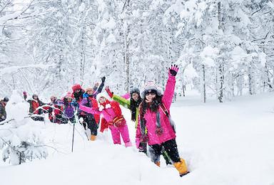 二浪河雪乡穿越 亚布力滑雪 马拉爬犁 穿越林海雪源(3日行程)