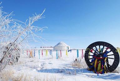 漠河 呼伦贝尔冬季冰雪摄影之旅(7日行程)