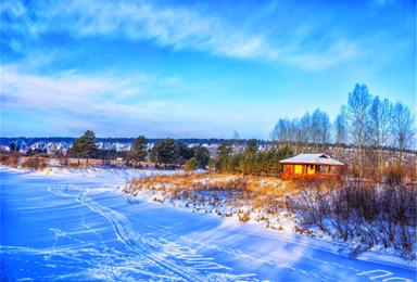 元旦 一路向北前往漠河最北 北红村体验零下冻感极寒地带(3日行程)
