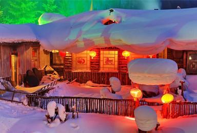 元旦 白色鸦片世界雪乡雪谷 自然奇观雾凇岛 冰雪世界(3日行程)