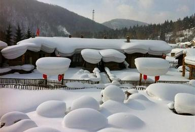 梦幻雪村游疆域冰河登长白天池赏异国风光(6日行程)