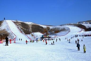 崇礼云顶 太舞 万龙滑雪 崇礼云顶 太舞 万龙滑雪场(2日行程)