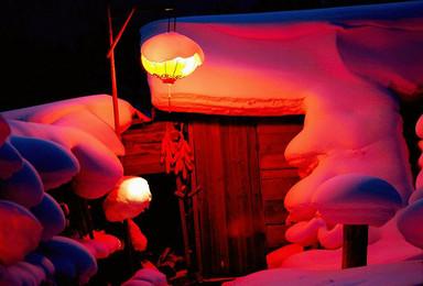 圣诞节走进林海雪原 雾凇岛赏晶莹树挂 挑战雪谷 雪乡徒步穿越(3日行程)