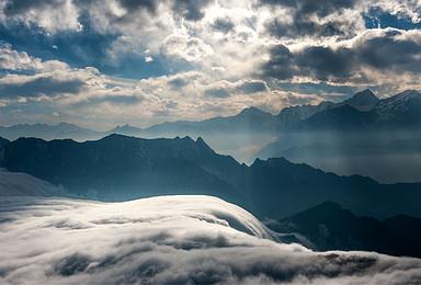 牛背山 回归 中国最美360度观景平台 漫步云端 宛如仙境(3日行程)