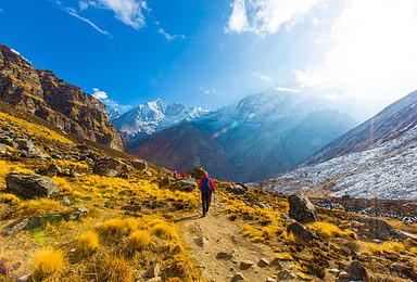 尼泊尔 布恩山 安纳普尔纳登山大本营ABC  徒步喜马拉雅(13日行程)