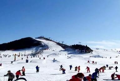 周末 莲花山滑雪 北京最近雪场 新手免费教学(1日行程)