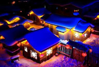 纵横户外 雪乡 雪谷 雪淞 蘑菇雪美景摄影游(2日行程)