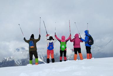 挑战人生中的第一个5000米 四姑娘山大峰登山(3日行程)