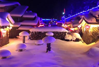 自驾游雪乡冰雪童话世界过圣诞(7日行程)