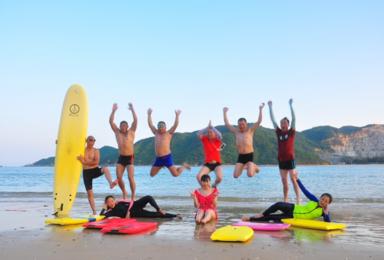 海南岛深度游 潜水 帆船 冲浪 抓螃蟹 骑行 摘椰子(7日行程)