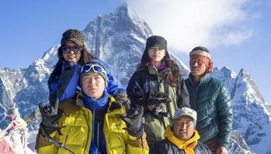 初级雪山攀登 四姑娘山二峰 长坪沟穿越毕棚沟 长穿毕(6日行程)