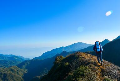 高端路线 云南哀牢山 原始森林徒步穿越(6日行程)
