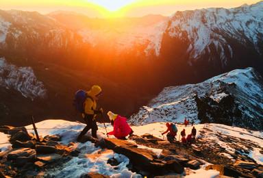 四姑娘山大峰攀登体验活动(3日行程)
