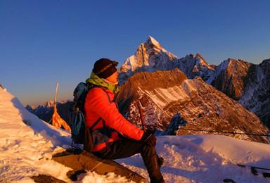 四姑娘山二峰攀登体验活动(3日行程)