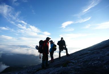 2018年 哈巴 5396攀登活动 1比1协作 两次登顶机会(5日行程)