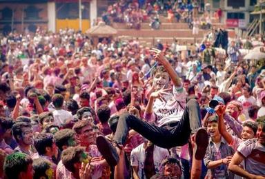 洒红节 3月狂欢尼泊尔(9日行程)