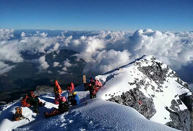哈巴雪山驴友天堂户外攀登探险(4日行程)