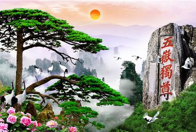 东岳泰山 三山五岳之红门经典登山线路 人间仙境徒步线路(2日行程)
