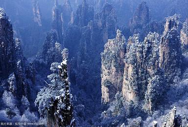 春节 张家界魅力湘西凤凰古城 红石峡 矮寨大桥精品游(1日行程)