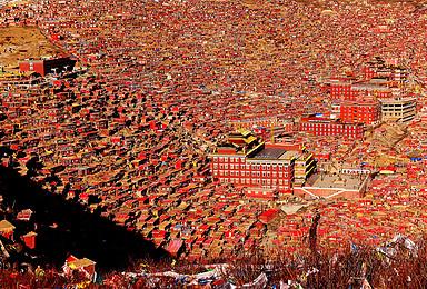 川西环线 探藏北神秘 亚青寺 措卡湖 色达 德格印经院之旅(10日行程)