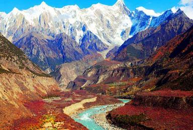 深度拉萨林芝鲁朗林海雅鲁藏布大峡谷拉姆拉措泽当羊湖(4日行程)