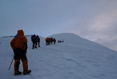 雪山之吻6178米 18年青海玉珠峰全年攀登计划(7日行程)