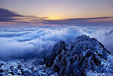 2月2日 下雪啦 下雪啦 去黄山看雪的机会终于来啦(3日行程)