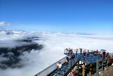 金子山垂直天梯登山祈祷 登最高玻璃桥 探千年神秘古瑶寨(2日行程)
