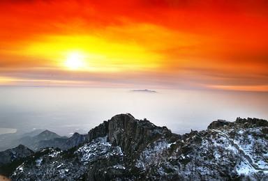 清明假期 泰山 两日游 登五岳泰山看日出云海 4 5 6日(3日行程)