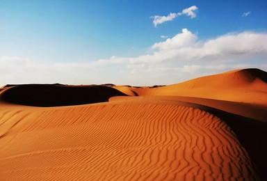 远征腾格里 五湖连穿 柴火炖羊 轻装徒步沙漠(4日行程)