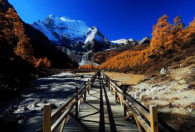 318 全景川藏香巴拉稻城亚丁鲁朗思金拉措美到让世界尖叫(7日行程)