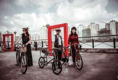 趣享骑行 老上海的浪漫 武康路骑行 带你骑个520(1日行程)