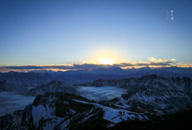 四人同山 观云海 看日落 日出 满天星空(3日行程)