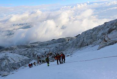 勇攀高峰 2018年全年计划 哈巴雪山5396M攀登(4日行程)