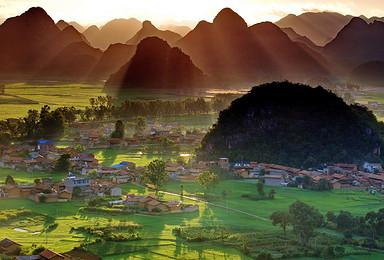 云南滇东南全景环线 一场旅行全方位体验七彩云南的梦幻色彩(8日行程)