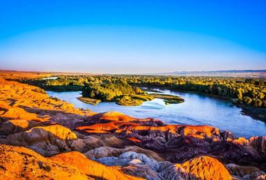 新疆可可托海白沙湖白哈巴喀纳斯禾木魔鬼城 环线计划(9日行程)