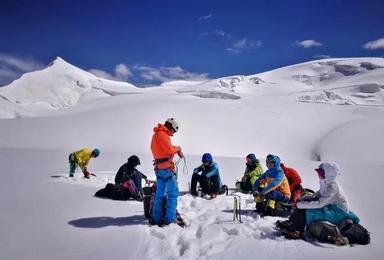自由之巅2018年阿尼玛卿攀登计划 爬雪山 送装备(9日行程)