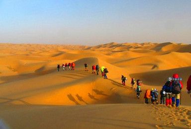 端午 徒步库不齐沙漠 红石峡 波浪谷 壶口瀑布(4日行程)